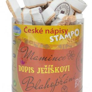 Stampo scrap -  České nápisy - MVhracky.cz