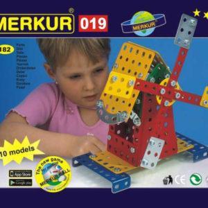 Merkur - Větrný mlýn - 182 ks - MVhracky.cz