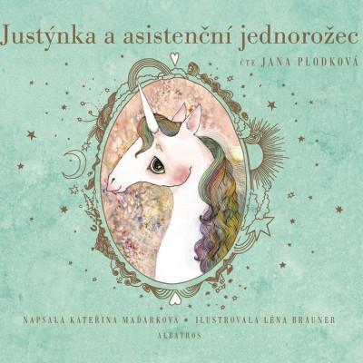 Justýnka a asistenční jednorožec - audiokniha na CD - MVhracky.cz