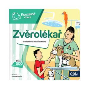 Kouzelné čtení - Minikniha povolání – Zvěrolékař - MVhracky.cz