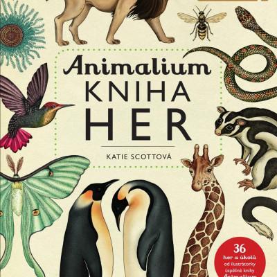 Animalium - kniha her - MVhracky.cz