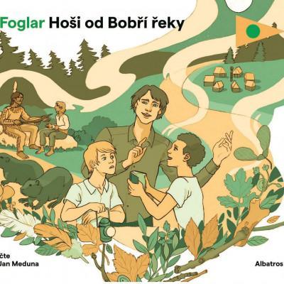 Hoši od Bobří řeky - audiokniha na CD - MVhracky.cz