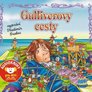 Gulliverovy cesty - audiokniha na CD - MVhracky.cz