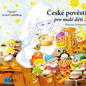 České pověsti pro malé děti 2 - audiokniha na CD - MVhracky.cz
