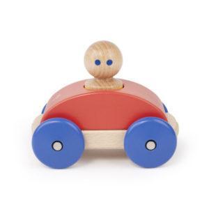 Magnetické autíčko TEGU - Poppy & Blue Racer - MVhracky.cz