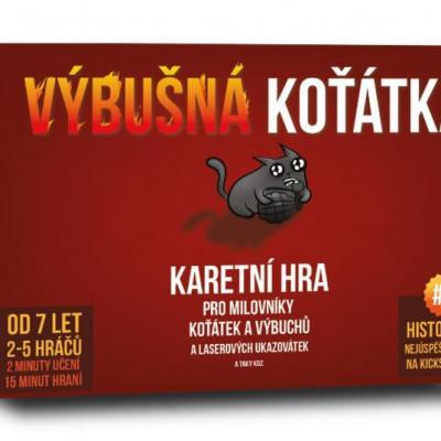 Výbušná koťátka - MVhracky.cz