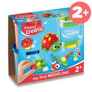 Modelovací hmota Maped Creativ - 4 barvy - MVhracky.cz