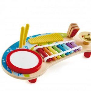 Multifunkční xylofon s bubínkem - MVhracky.cz