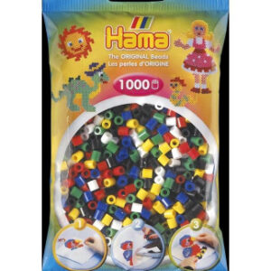 Hama Midi - korálky mix 1000 ks - MVhracky.cz