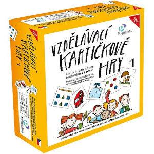 Vzdělávací kartičkové hry 1 - MVhracky.cz