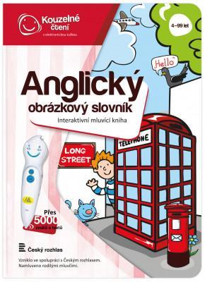 Kouzelné čtení - Kniha - Anglický obrázkový slovník - MVhracky.cz