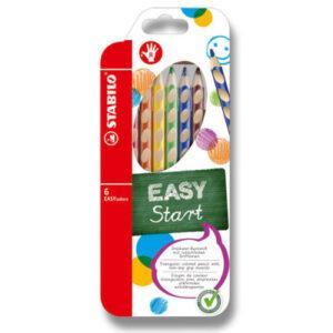 Pastelky Stabilo EASYcolors - 6 barev