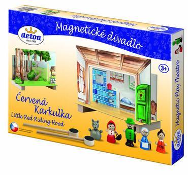 Divadlo magnetické - Červená Karkulka - MVhracky.cz