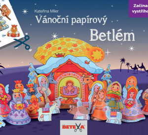 Betlém - vánoční vystřihovánka - MVhracky.cz