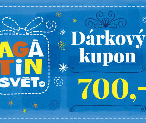 Agátin dárkový kupón: 700 Kč - MVhracky.cz