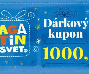 Agátin dárkový kupón: 1000 Kč - MVhracky.cz