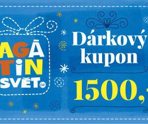 Agátin dárkový kupón: 1500 Kč - MVhracky.cz