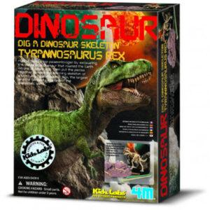 Vykopávka Tyranosaura rexe se skládací kostrou - MVhracky.cz
