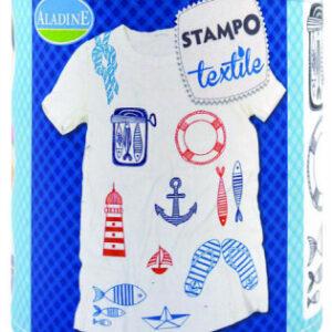 Stampo textil - Marina  - 13 ks - MVhracky.cz