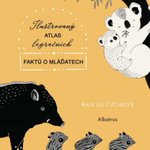 Ilustrovaný atlas legračních faktů o mláďatech - MVhracky.cz