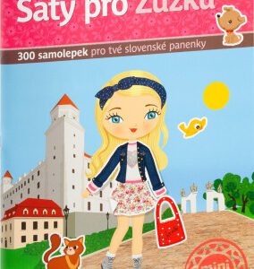 Šaty pro Zuzku - kniha samolepek - MVhracky.cz
