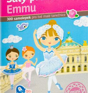 Šaty pro baletku Emmu - kniha samolepek - MVhracky.cz