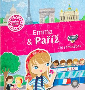 Emma & Paříž - Město plné samolepek - MVhracky.cz