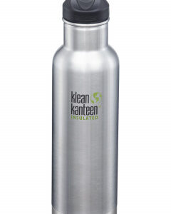 Nerezová termolahev Klean Kanteen Insulated Classic w/Loop Cap - brushed stainless 592 ml - MVhracky.cz