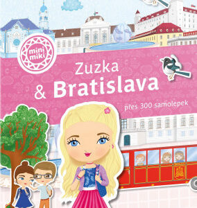 Zuzka & Bratislava - Město plné samolepek - MVhracky.cz