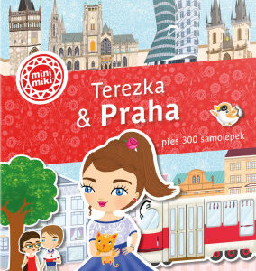 Terezka & Praha - Město plné samolepek - MVhracky.cz