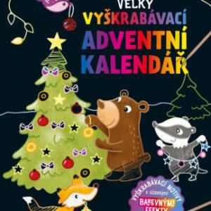 Velký vyškrabávací adventní kalendář - MVhracky.cz