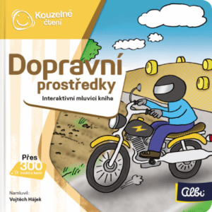 Kouzelné čtení - Minikniha - Dopravní prostředky - MVhracky.cz