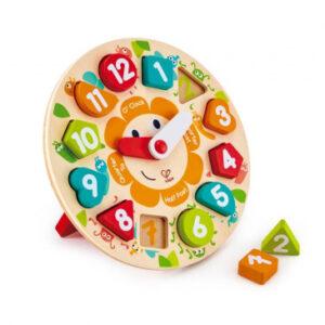 Dětské puzzle hodiny - MVhracky.cz