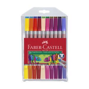 Dětské fixy Faber-Castell -  20 barev - MVhracky.cz