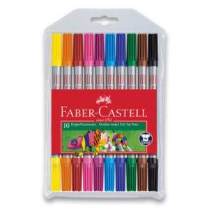 Dětské fixy Faber-Castell - 10 barev - MVhracky.cz