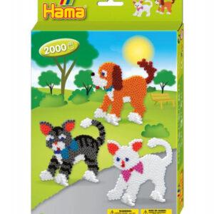Hama midi - Dárková sada - kočky - 2000 ks - MVhracky.cz