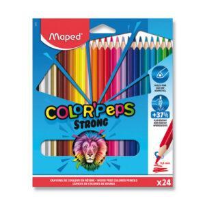 Pastelky Maped Color'Peps Strong - 24 barev - MVhracky.cz