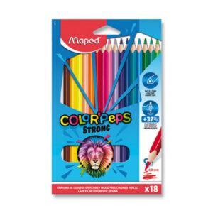Pastelky Maped Color'Peps Strong - 18 barev - MVhracky.cz