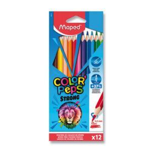 Pastelky Maped Color'Peps Strong Jumbo - 12 barev - MVhracky.cz