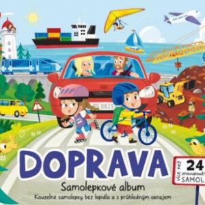 Samolepkové album - Doprava - MVhracky.cz