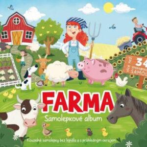 Samolepkové album - Farma - MVhracky.cz