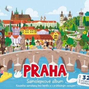 Samolepkové album - Praha - MVhracky.cz