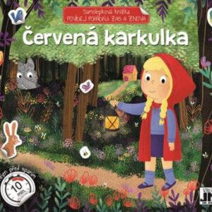 Červená karkulka - povídej pohádku zas a znova - samolepková knížka - MVhracky.cz
