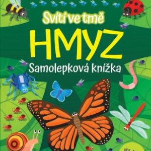 Hmyz - samolepková knížka svítící ve tmě - MVhracky.cz