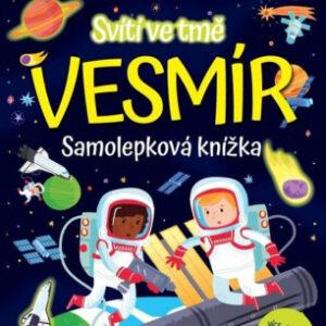 Vesmír - samolepková knížka svítící ve tmě - MVhracky.cz