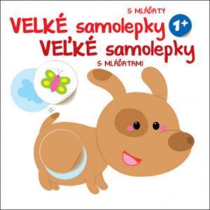 Velké samolepky s mláďaty - Pejsek - MVhracky.cz