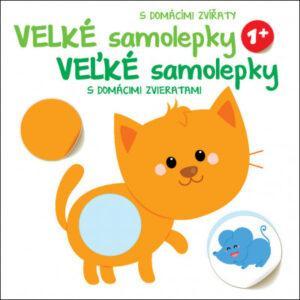 Velké samolepky s domácími zvířaty - Kočka - MVhracky.cz