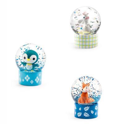 Mini sněhová koule - Zajíc