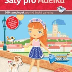 Šaty pro Adélku - kniha samolepek pro tvé české panenky - MVhracky.cz