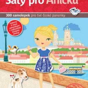 Šaty pro Aničku - kniha samolepek pro tvé české panenky - MVhracky.cz